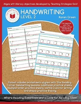 Level 2 Handwriting Bundle