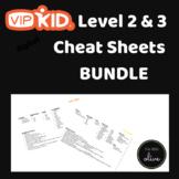 Level 2 & Level 3 VIPKID cheat sheets BUNDLE