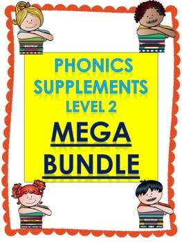 Level 2 units 1-17 Phonics supplements, Centers, and Activities MEGA BUNDLE