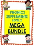 Level 2 units 1-17 Phonics supplements, Centers, and Activities MEGA BUNDLE