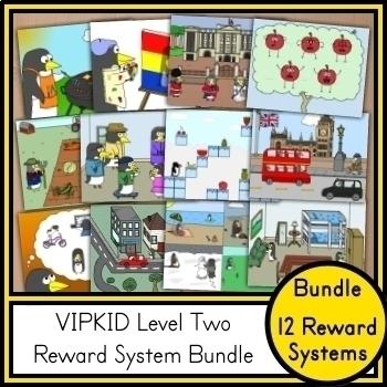 Level 2 Reward System Bundle (VIPKID & Online Teaching)