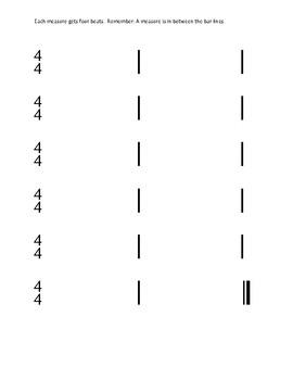 Level 2 Rhythm Composition w/ Rubric