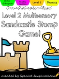 Level 2 Sandcastle Stomp Summer Reading Game! Orton-Gillingham