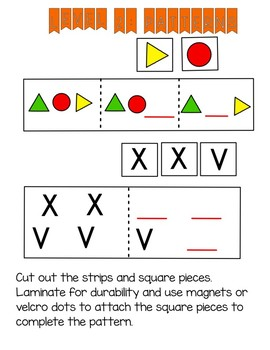 Level 2: Shape and Letter Patterns