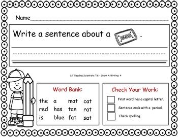 Short A (CVC) - Writing Kit (OG)