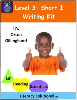 Level 3: Short I CVC - Writing Kit