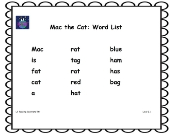Short A (CVC) - Decoding/Reading Kit (OG)