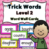 Level 2 Trick Word Cards
