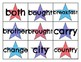 Level 2 Trick Word Cards Patriotic Theme