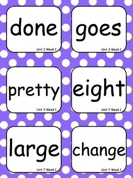 Level 2 Trick Words for Word Wall with EDITABLE Cards - 2 sizes