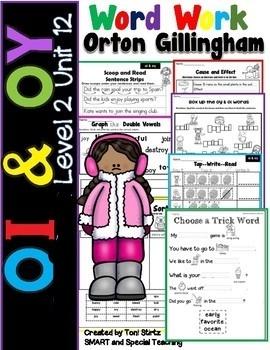 OI & OY Activities Level 2 Unit 12  Activities Dyslexia