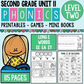 Level 2 Unit 12 Long E Words