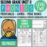 Phonics Level 2 Unit 11 Long E Words