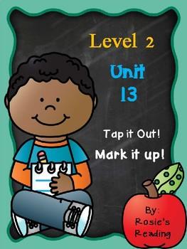 Level 2 - Unit 13 Tap it out! Mark it up!