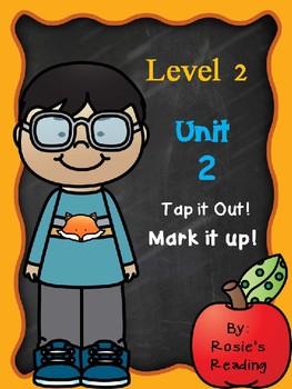 Level 2 - Unit 2 Tap it out! Mark it up!