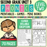 Level 2 Unit 3 : Closed Syllable Exceptions (ild, old, ost, ind)