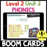 Level 2 Unit 3 FUNdamentally Differentiated Digital BOOM CARDS