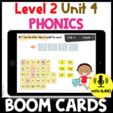 Level 2 Unit 4 BOOM CARDS Suffixes Distance Learning