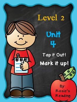 Level 2 - Unit 4 Tap it out! Mark it up!