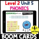 Level 2 Unit 5 FUNdamentally Differentiated Digital BOOM CARDS