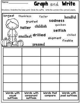 Level 2 Unit 5 Fun Phonics Activities (Suffixes & Multisyllabic Words)  Dyslexia