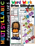 Level 2 Unit 5 Fun Phonics Activities (Suffixes & Multisyl