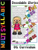 Level 2 Unit 5 (Suffixes and Multisyllabic Words) Second Grade Decodable Stories