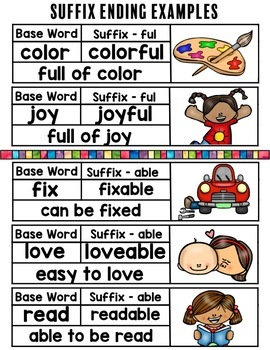 Level 2 Unit 5 : Syllables and Suffixes
