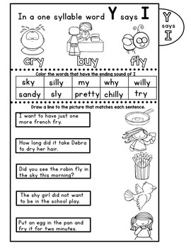 Level 2 Unit 7 - Open Syllables - Y as a Suffix