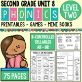 "Level 2 Unit 8 R Controlled Vowels ""or"" and ""ar"""
