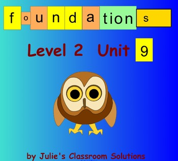 Level 2 Unit 9 Smartboard