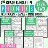 Level 2 Units 1-4 Bundle 2nd Grade Phonics