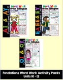 Level 2 Units 10-12 Second Grade Fun Phonics Activity Bundle