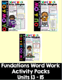 Level 2 Units 13-15 Second Grade Fun Phonics Activity Bundle