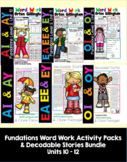 Level 2 Units 10-12 Second Grade Fun Phonics Activity & De