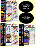 Level 2 Units 4-6 Second Grade Fun Phonics Activity Bundle