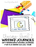 Differentiated Writing Curriculum- Level 2 (Tracing)