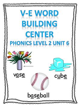 Level 2 unit 6 v-e word building center