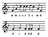 Level 3.1 Sight Singing Cards