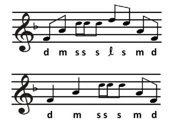 Level 3.2 Sight Singing Cards