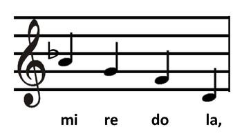 Level 3.4 Sight Singing Cards