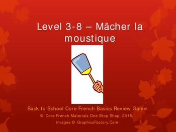 Level 3-8 Macher la Moustique Basics Review