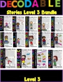 Third Grade Phonics Units 1-14 Decodable Stories and Comprehension Questions
