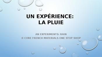 Level 3 Rain Experiment Activity