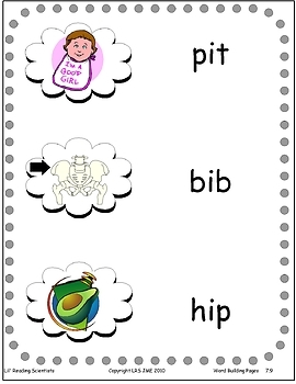 Level 3: Short I (CVC) - Word Building & Spelling Kit (OG)
