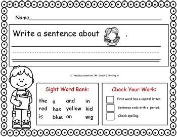 Short I (CVC) - Writing Kit (OG)