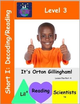Level 3: Short Vowel I: (CVC) - Decoding/Reading Kit (OG)