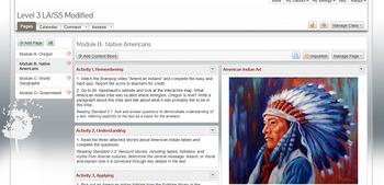 Level 3 Social Studies Modified Curriculum