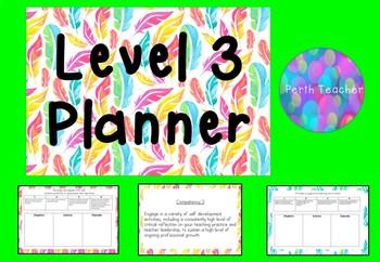 Level 3 Teacher Planner