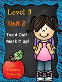 Level 3 - Unit 2 Tap it Out!  Mark it Up!